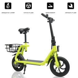 Electric Bike Portable Bicycle Motor Lithium Battery EBike O