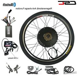 Electric Bike Wheel Conversion Motor Kit 500W 1000W 1500W 48
