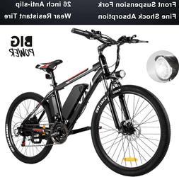 Electric Bikes 26 inch E-Bike Electric Mountain Bike Bicycle