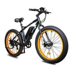 Electric Fat Tire Bike Beach Snow Bicycle City e-bike 36v 50