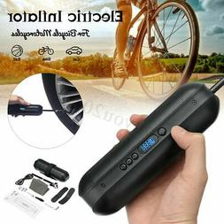 150PSI Bike Electric Inflator Cycle MTB AirPressure Pump Rec