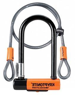 Kryptonite Evolution Mini-7 U-Lock with 4-foot Flex Cable: 3