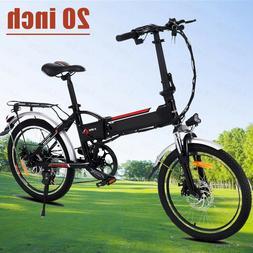 Folding 20inch Electric Bike E-bike City Mountain Bicycle Cy