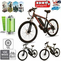 CLIENSY Folding Electric Bike City Mountain Cycling EBike 36