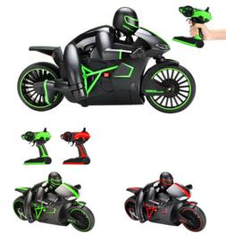 High Speed Remote Control Motorcycles Toy Game Car w/ Lights