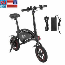 IP65 12'' Electric Bike Folding Cycling E-bike Bicycles City