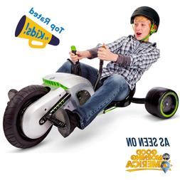 Kids Big Wheel Tricycle Drift Bicycle Company Electric Green