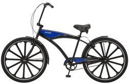 """Schwinn Kokomo 27.5"""" Cruiser Bike-Black/Blue"""