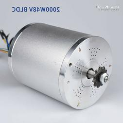 KUNRAY MY1020 48V DC 2000W Electric Brushless Motor 5400RPM