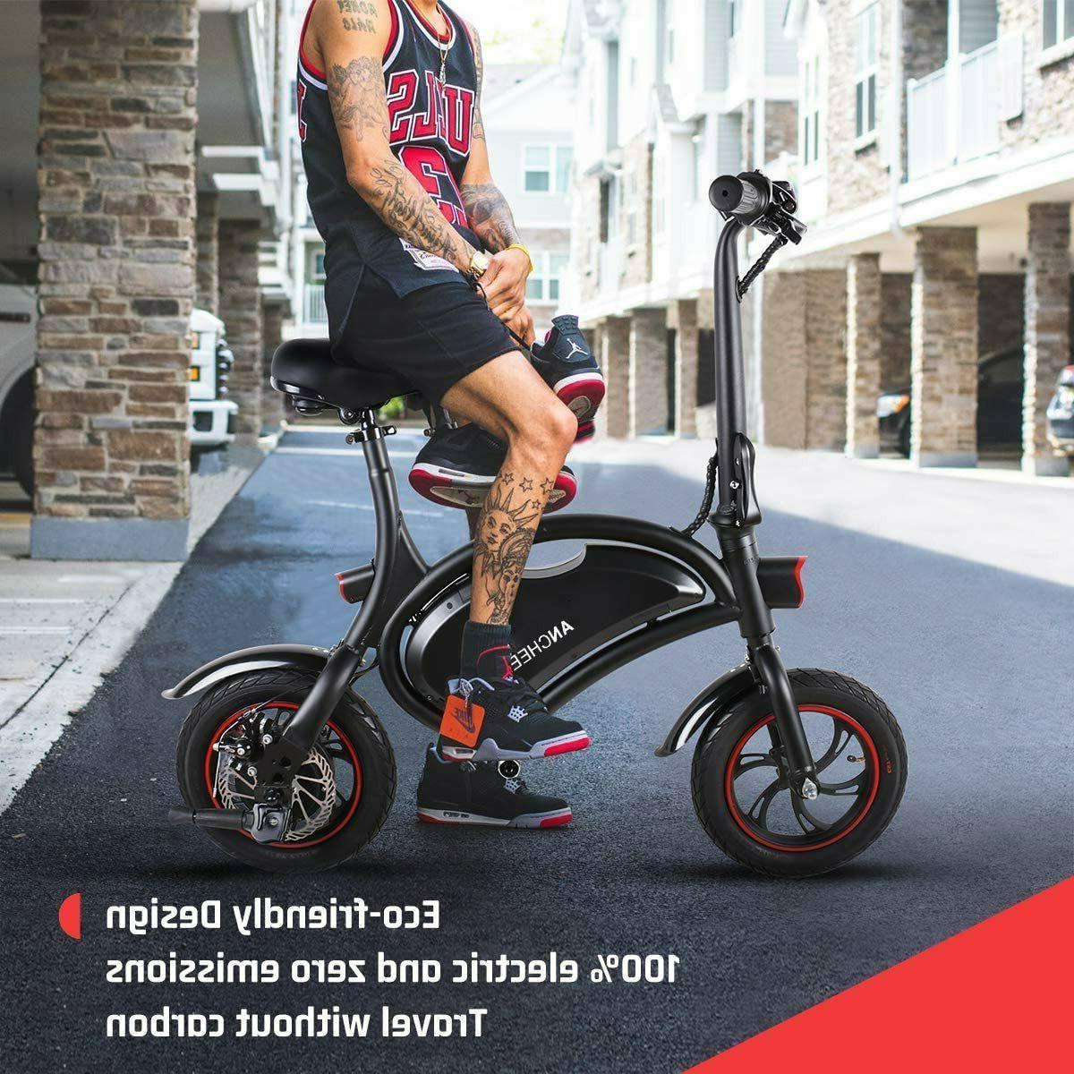 12''Folding Bike City Bike Ebike,Man