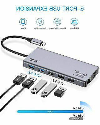 Octo 13-in-1 USB-C Hub for with Type