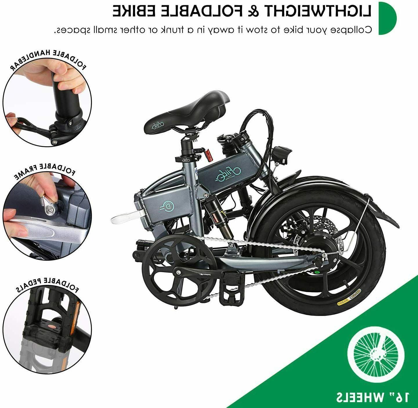 FIIDO Electric E-bike Mountain Bicycle Light Foldable Cycling