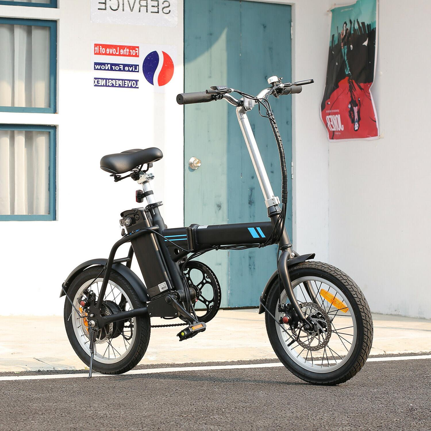 16'' Electric Bicycle City Commuter 36V Battery