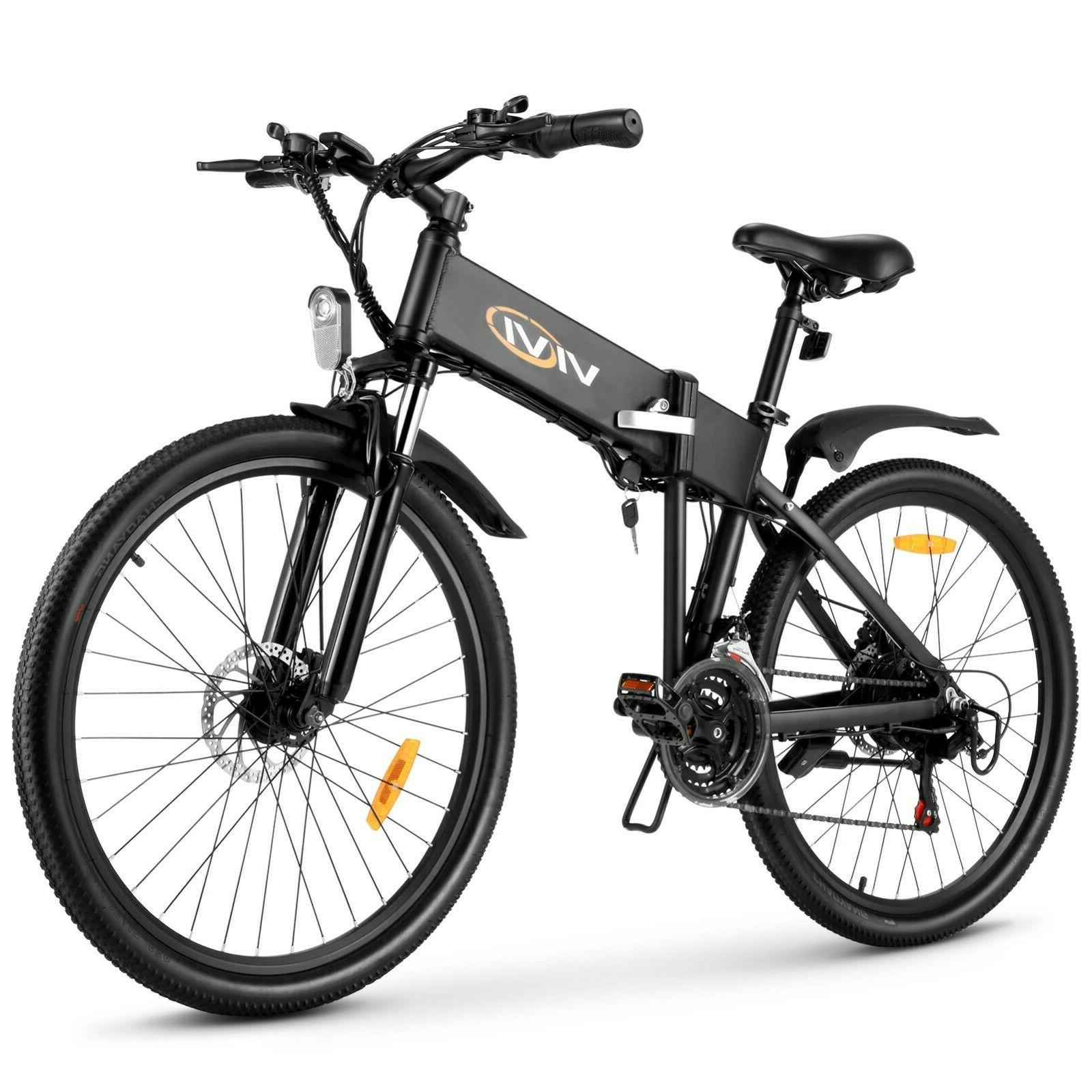 🛴26'' Bike Mountain Bicycle City EBike 21 Speed