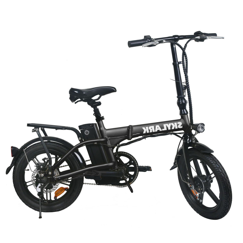 16 folding electric bicycle lightweight e bike