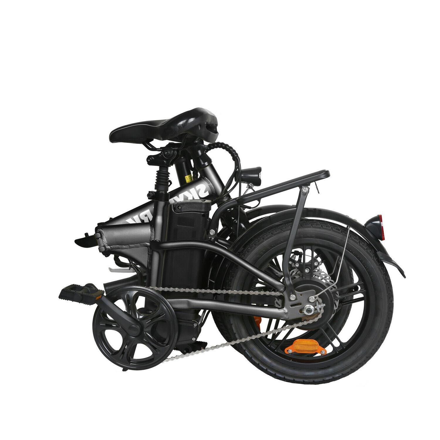 NAKTO 16'' Bike Ebike 36V 10Ah Moped Bicycle
