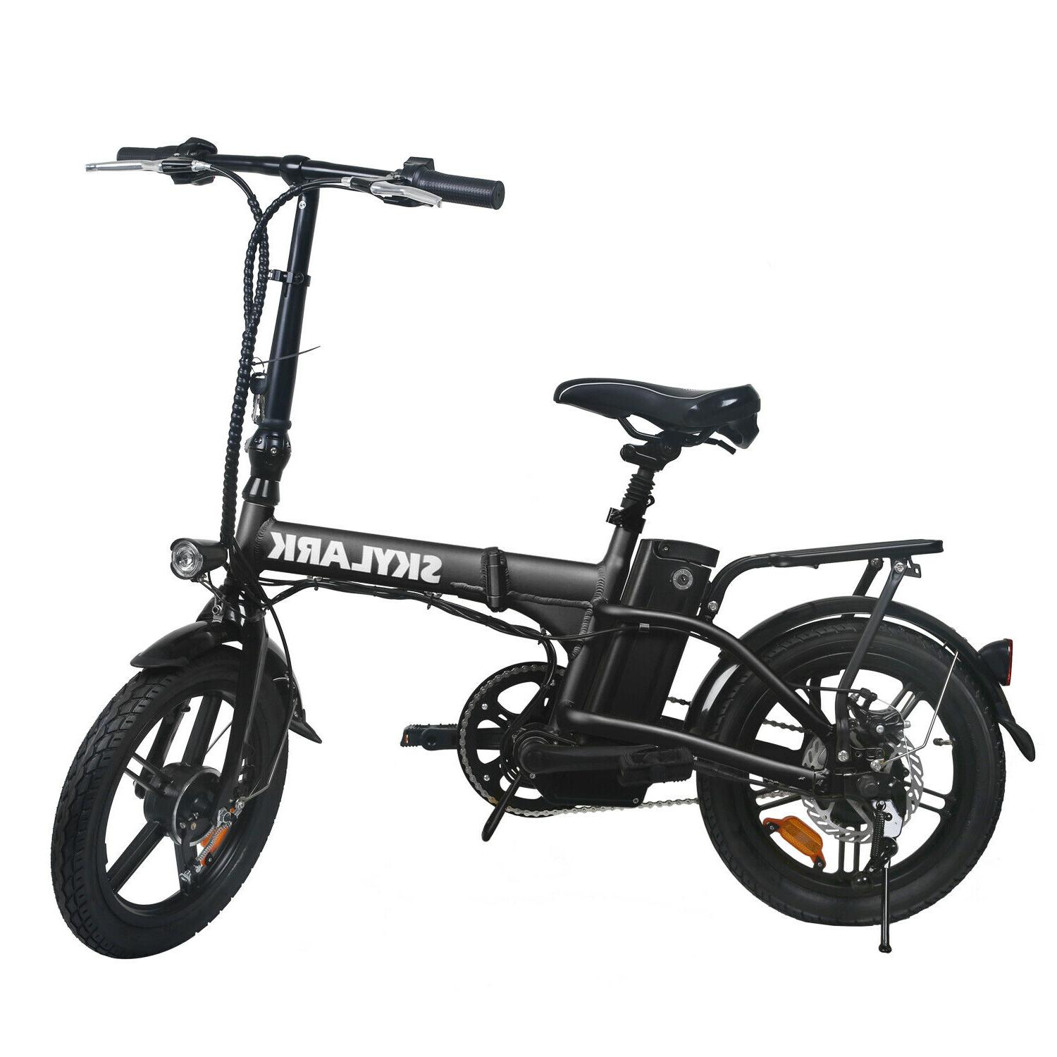 16 folding electric bike 250w ebike 36v