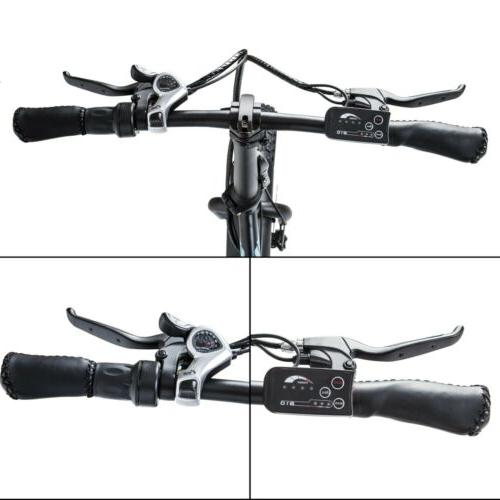 """ECOTRIC 20"""" Folding Bicycle e-Bike Fat tire 7"""