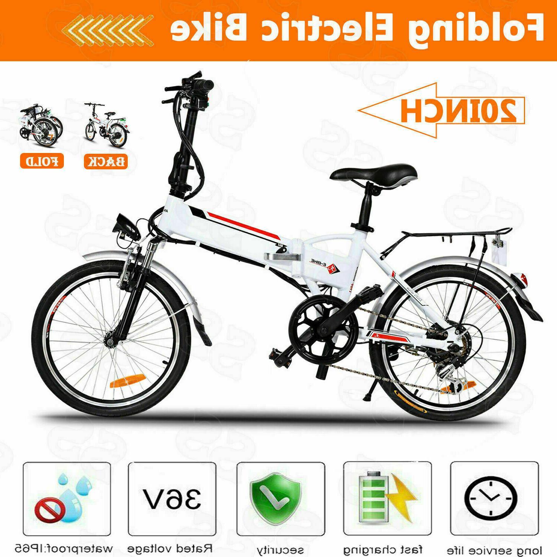 20inch folding electric bike city ebike 36v