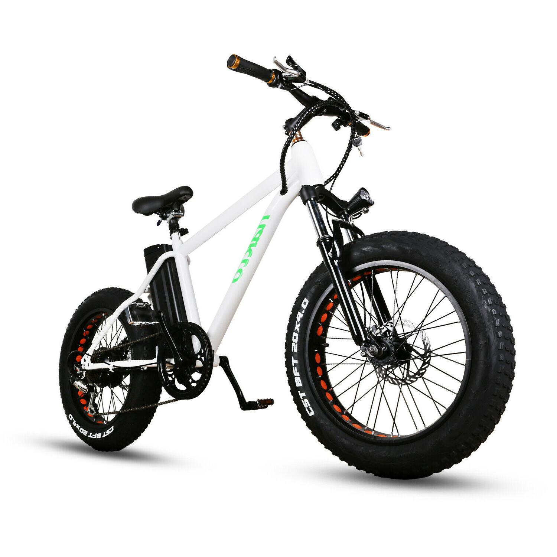 20 electric bike fat tire mountain bicycles