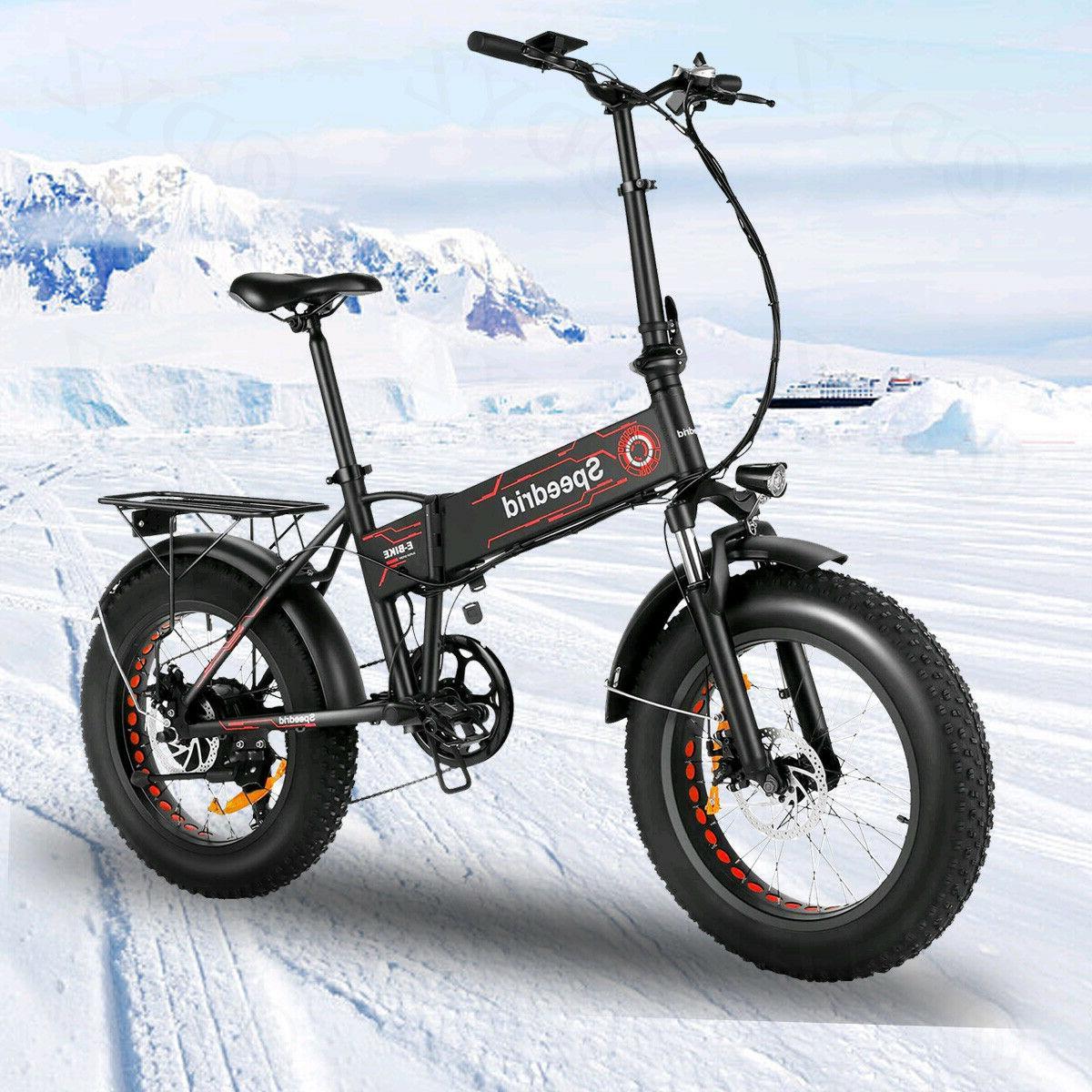 20INCH 500W Folding Mountain Bicycle 12Ah