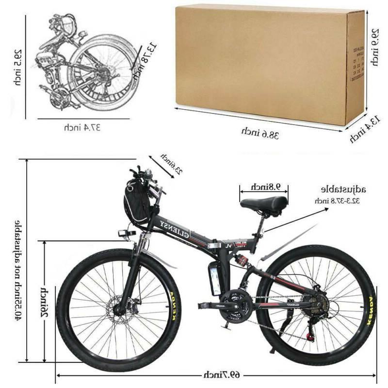 CLIENSY Bicycle Bike 36V Cycling EBike