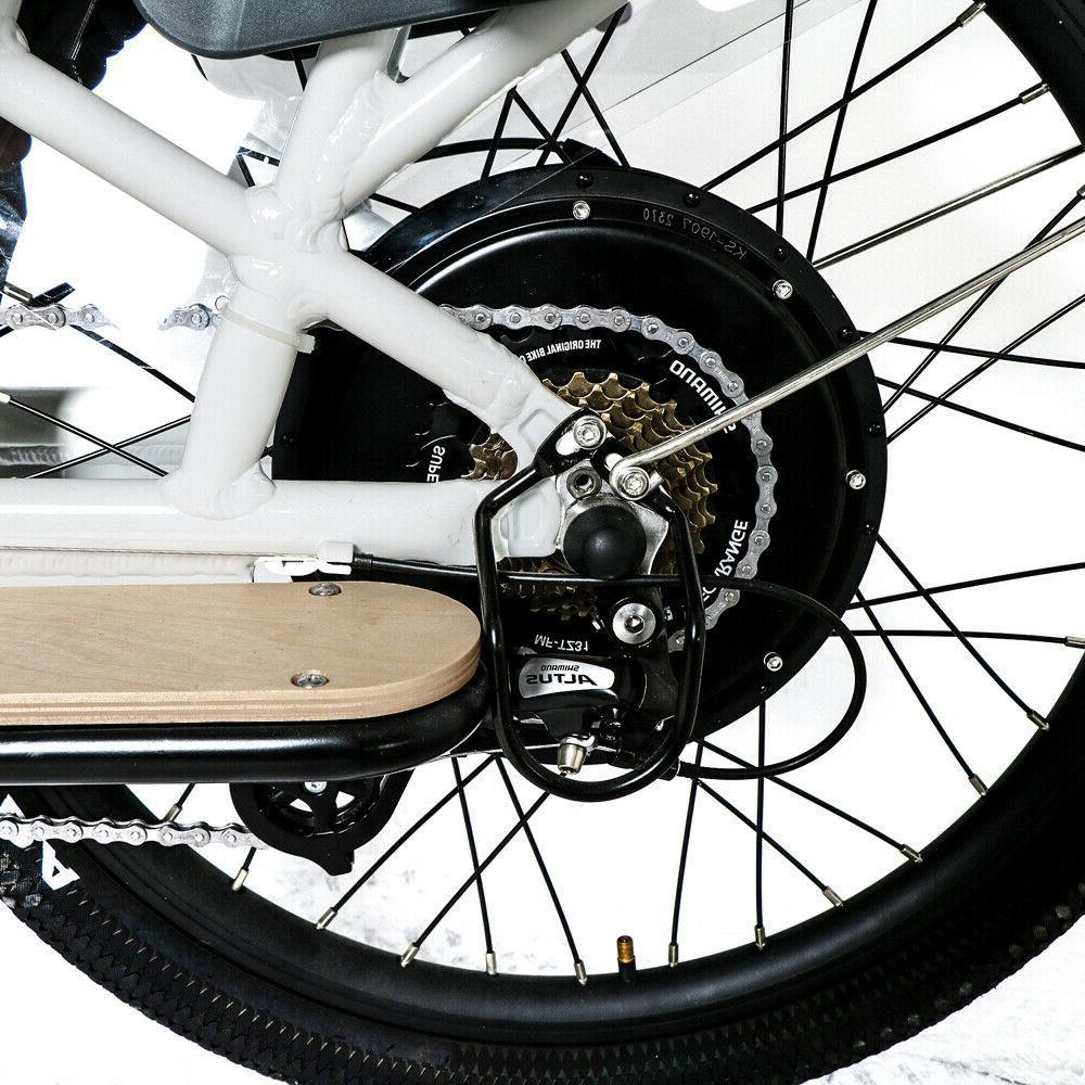 "Eunorau 24"" Model MAX-CARGO E-Bike"
