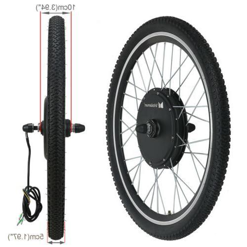 "24""Electric Conversion Kit Front Bike Cycling"