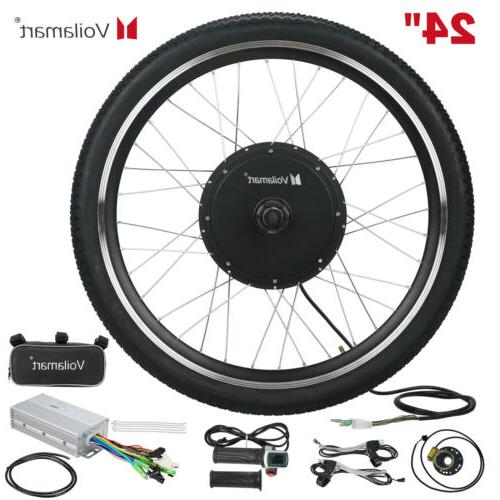 24 electric bicycle motor conversion kit front