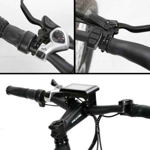 """ECOTRIC 26"""" 13Ah Mountain Electric Bicycle Hydraulic"""