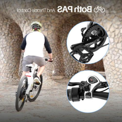 ECOTRIC 1000W Mountain Electric Bicycle Ebike Brake