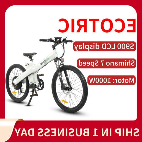 26 1000w 48v13ah mountain electric bicycle e