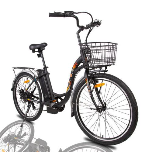 """26""""36V 350W Electric Bicycle e-Bike 7"""