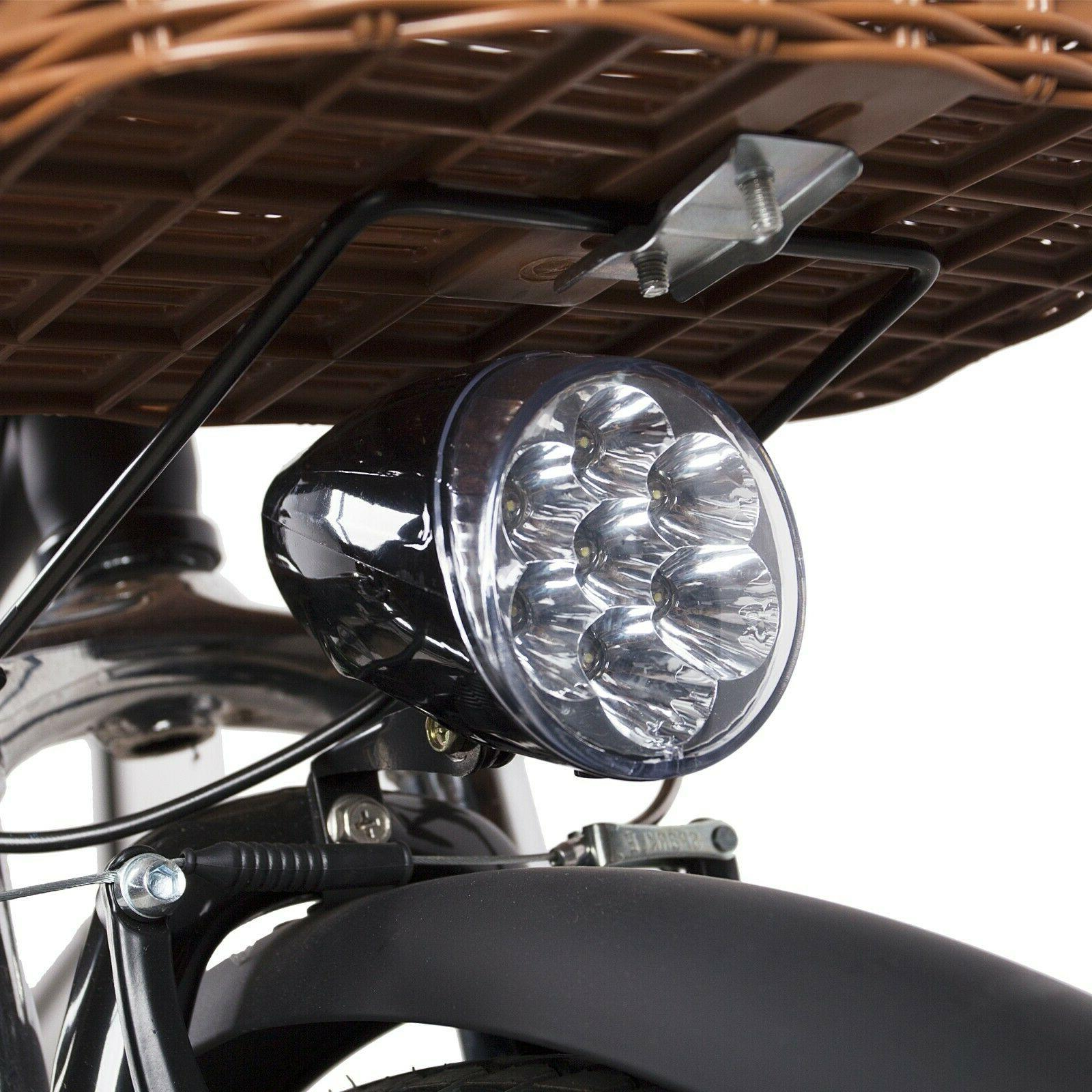 "NAKTO 26"" E-Bike Li-Battery Speed"