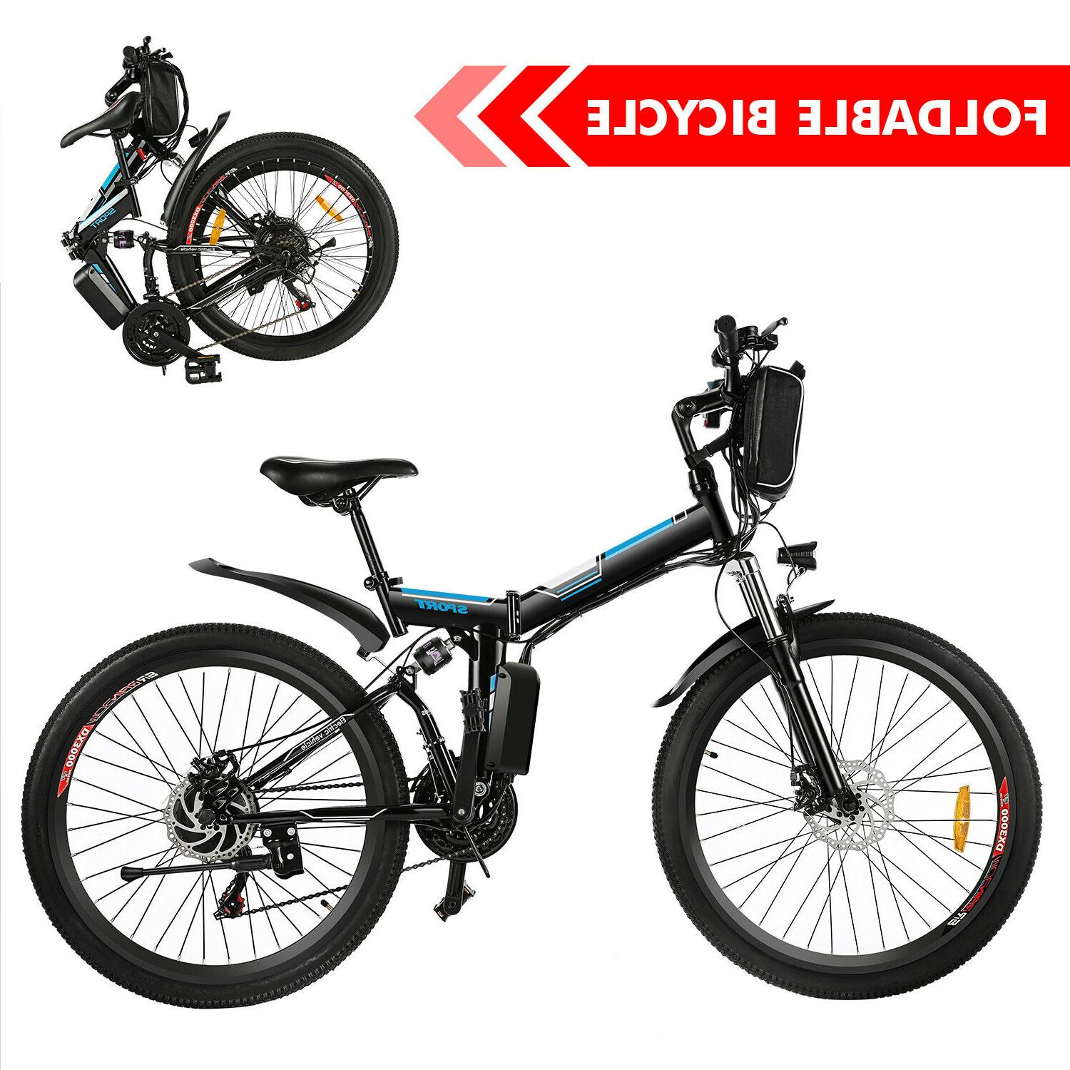 26'' Electric Mountain Bicycles Cycling