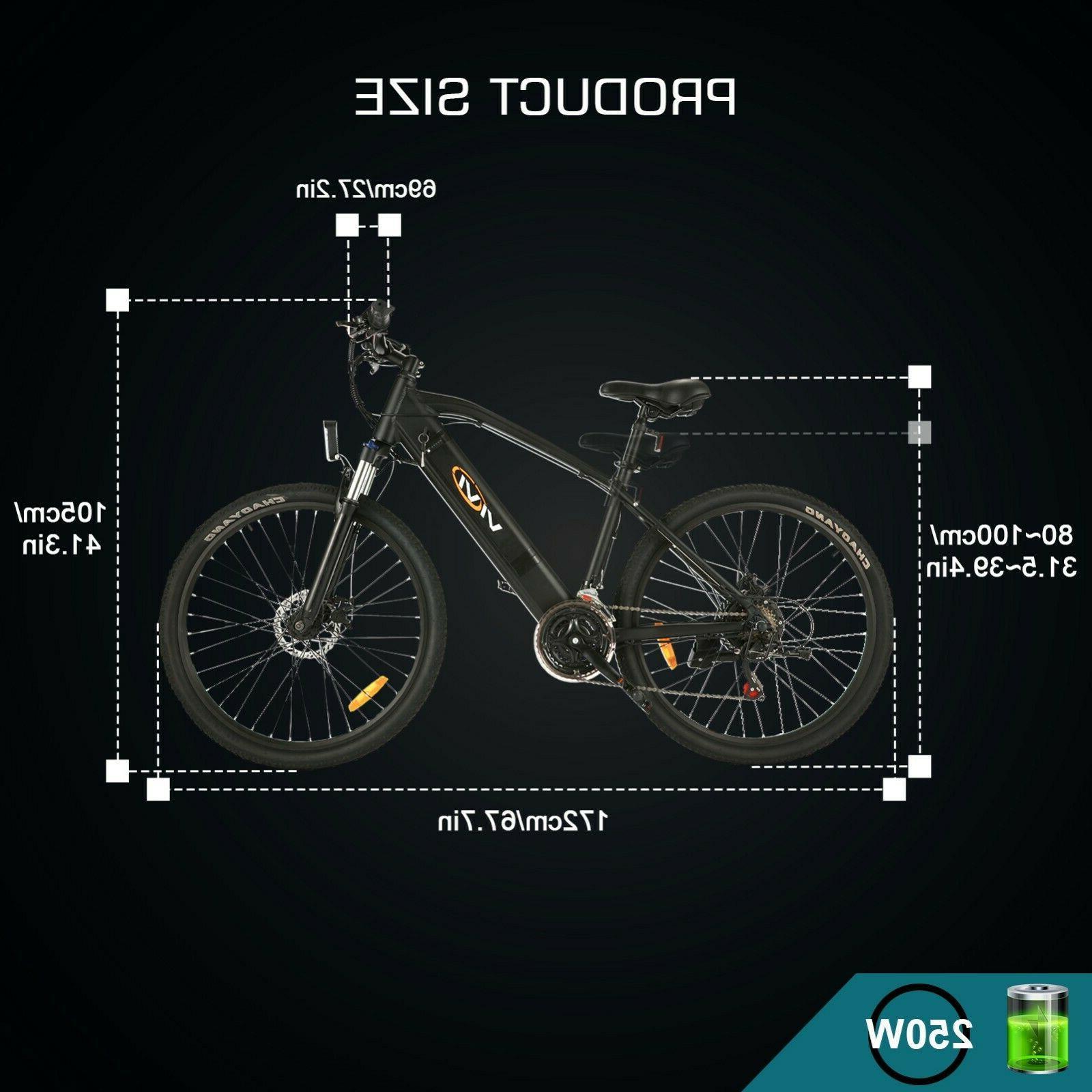 🛴26'' Bicycle Folding EBike 21 Bike New Hot !
