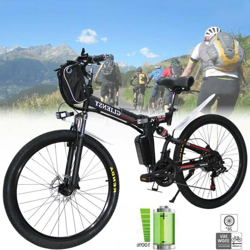 """CLIENSY 26"""" Electric Bike 36V Cycling EBike"""