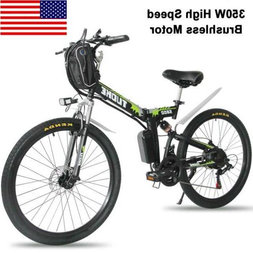 26 electric folding bike mountain bicycle ebike