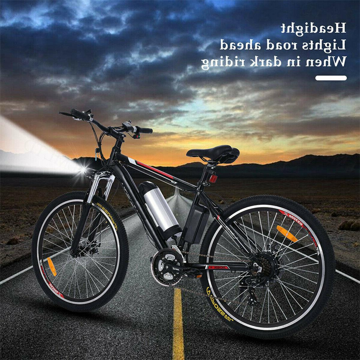 26INCH Electric Bicycle EBike SHIMANO 21Speed