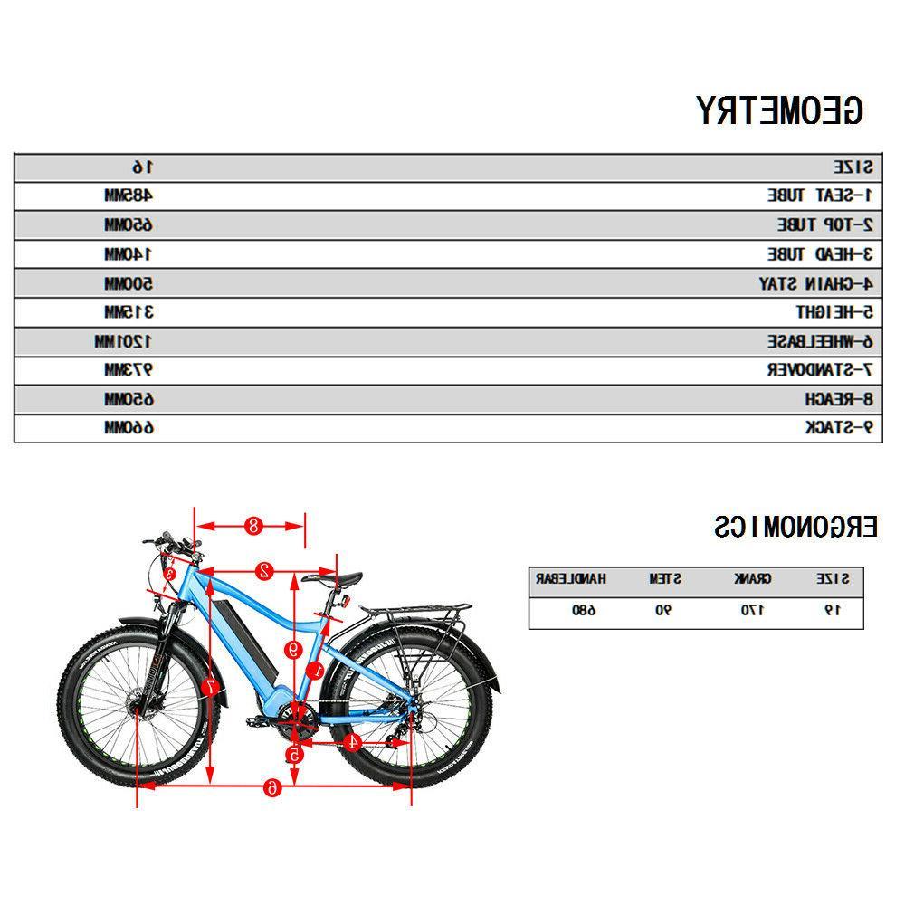 Eunorau Fat Tire Model FAT-HD E-Bike