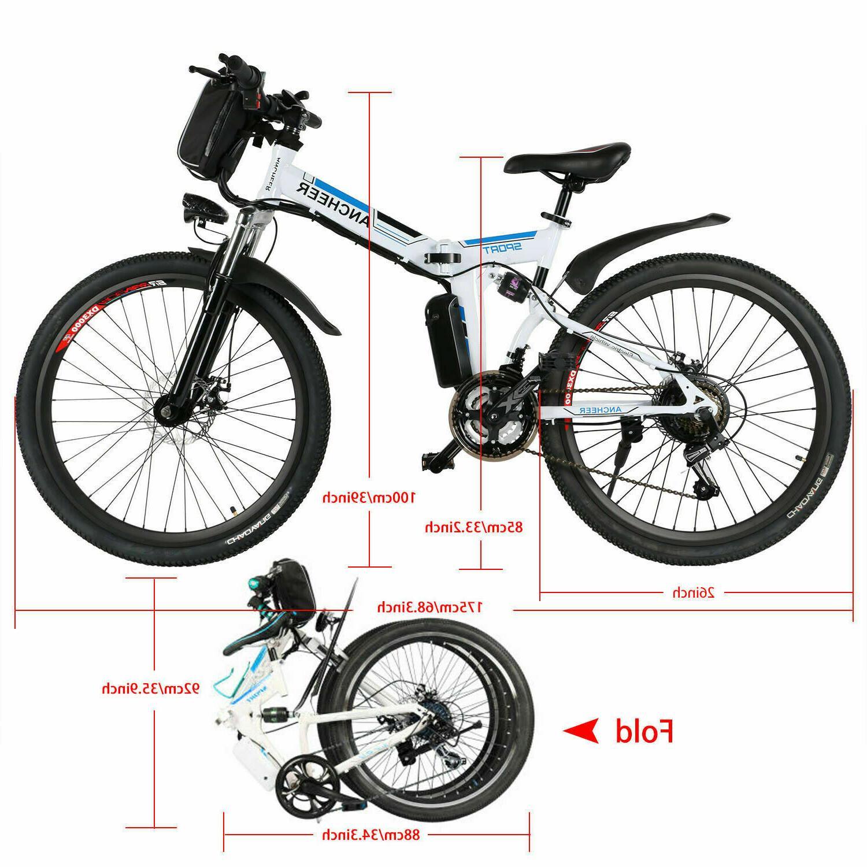 26'' Bicycle Bike City 36V Li-Battery