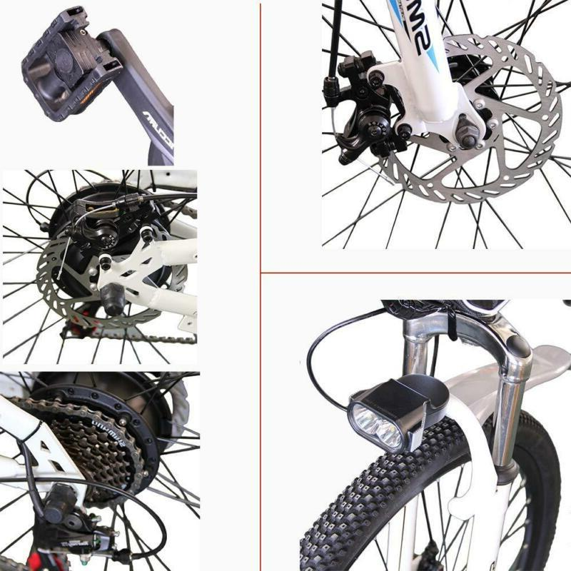 "CLIENSY 26"" Bicycle 350W City Mountain Bike 36V"