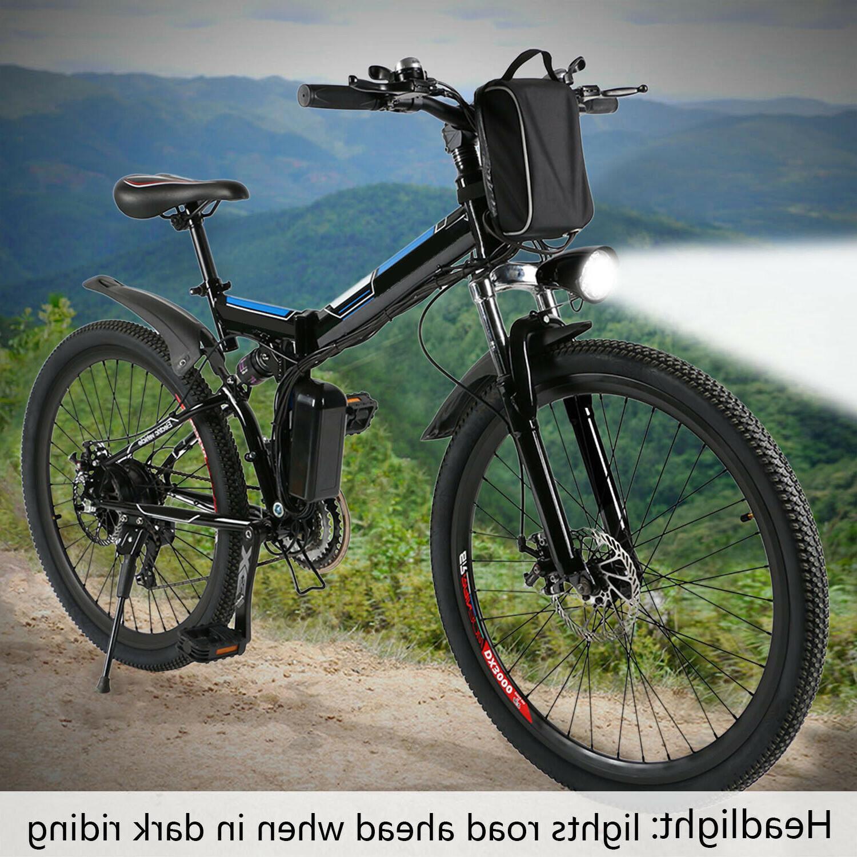 26 electric bike e bike folding mountain