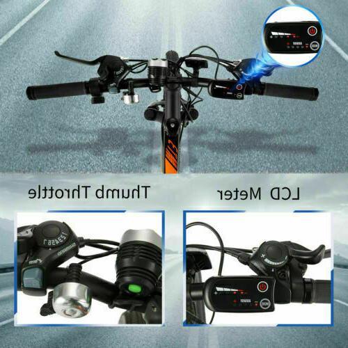 26INCH Electric Bike Bicycle Ebike Battery,350W
