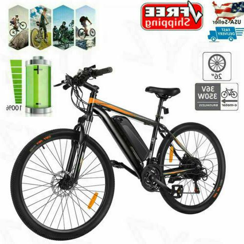 26INCH Mountain Bicycle Battery,350W
