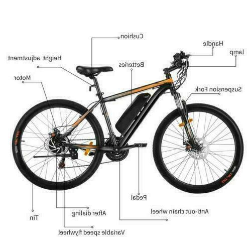26INCH Bike Mountain Bicycle Lithium-Ion Battery,350W e