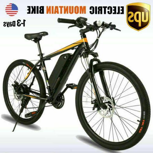 26inch electric bike mountain bicycle ebike 10