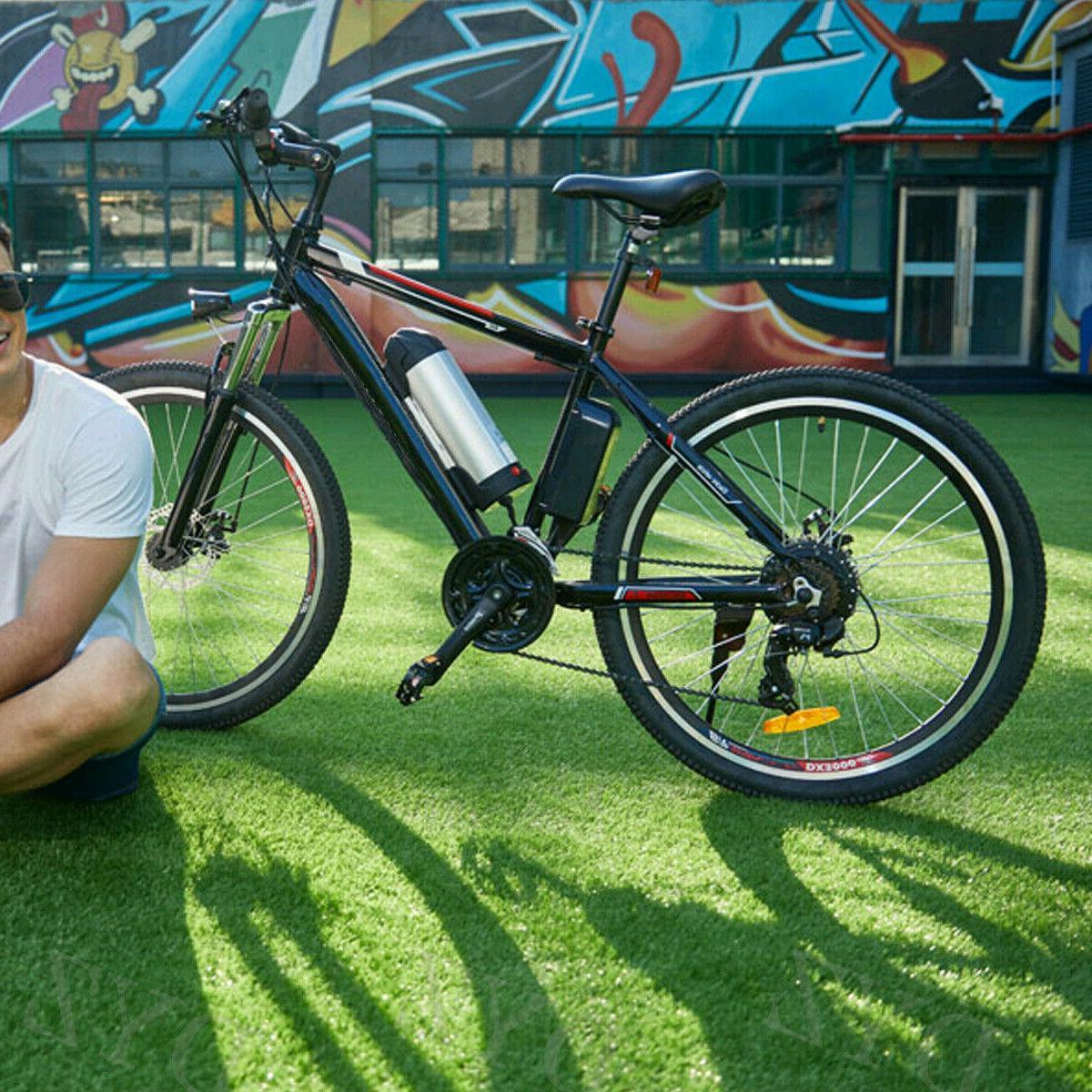 26INCH Bike Mountain Bicycle EBike SHIMANO 21Speed 36V