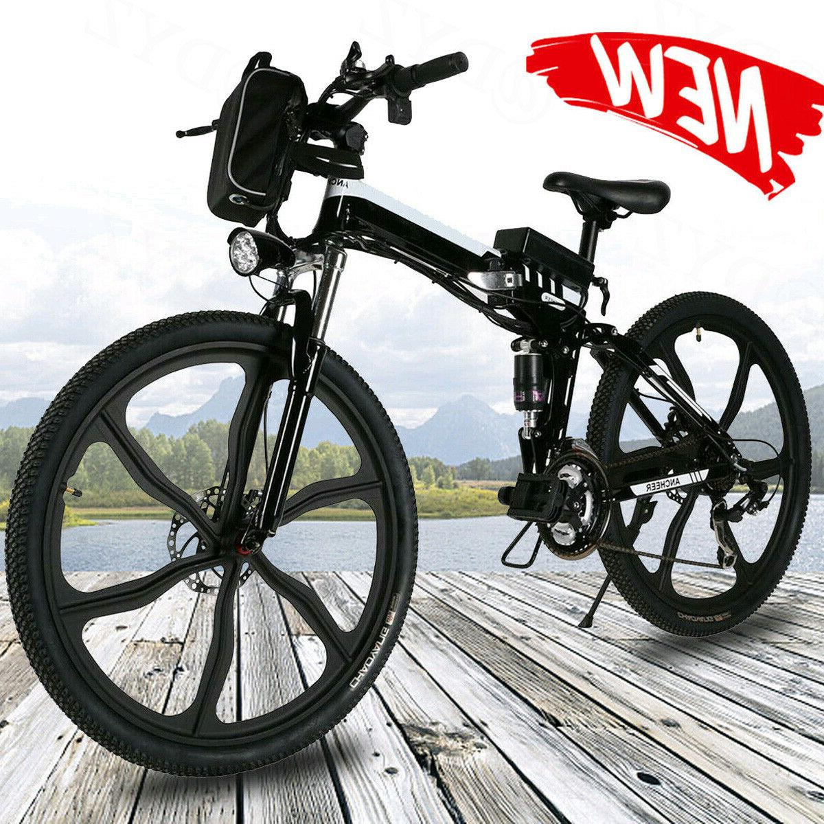 26inch electric bike folding mountain bicycle e