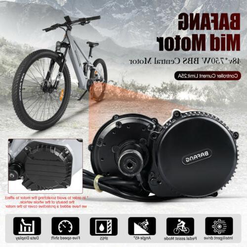 """27.5"""" Electric Mountain Bike Bike Bafang 48V 750W Motor"""